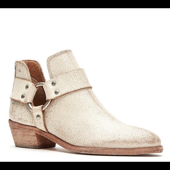 Frye Ray Harness Back Zip Ankle Boot